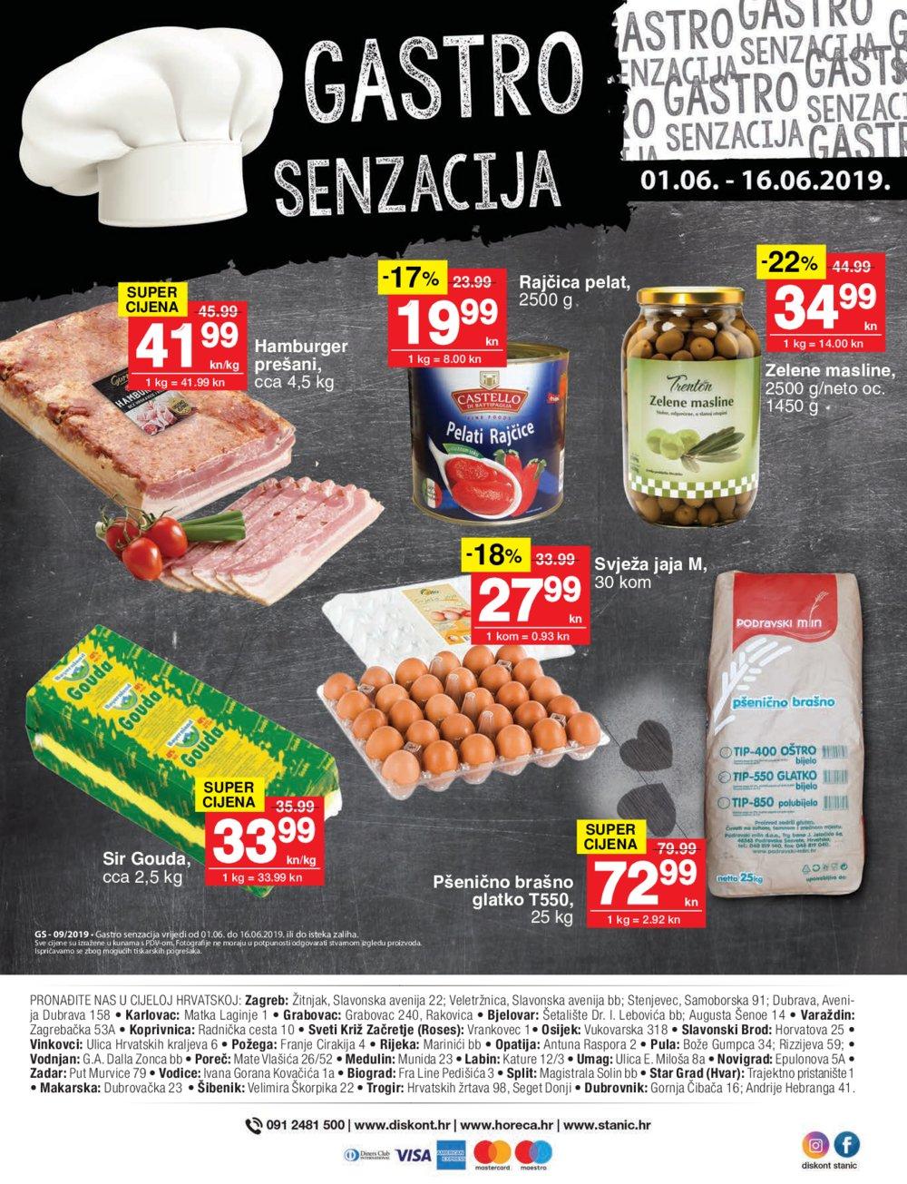 Diskont Stanić katalog Akcija 03.06 -28.06 2019.
