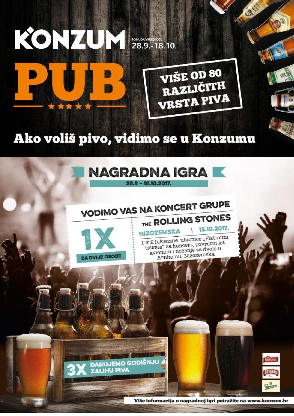 Konzum katalog Konzum Pub 28.09.-18.10.2017.