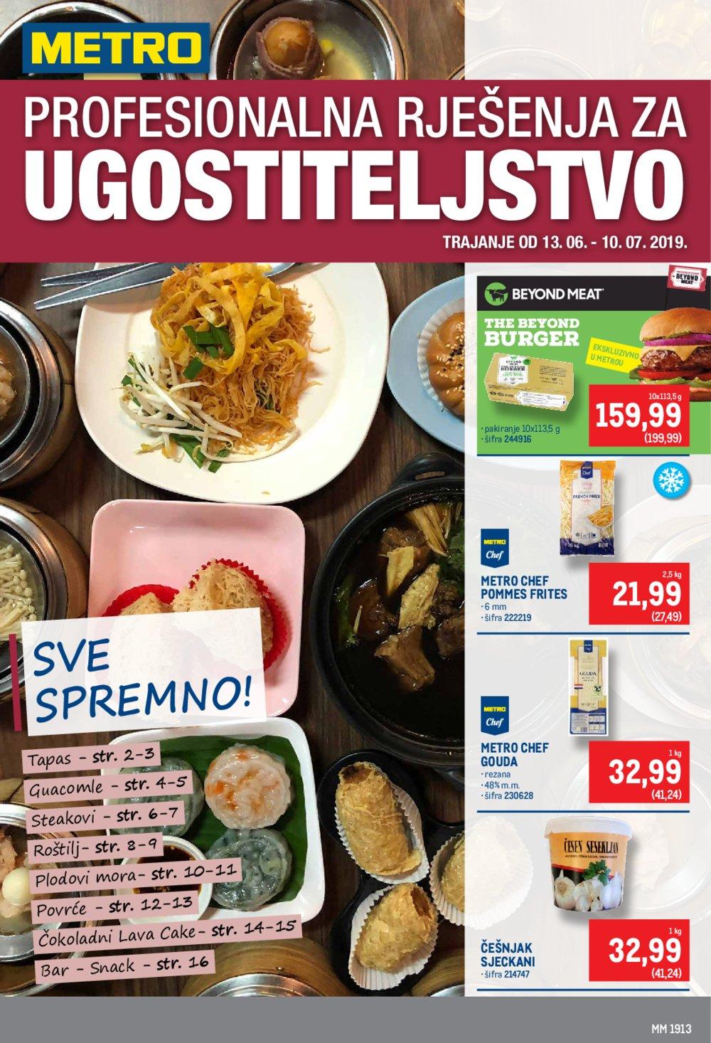 Metro katalog Ugostiteljstvo 13.06.-10.07.2019.