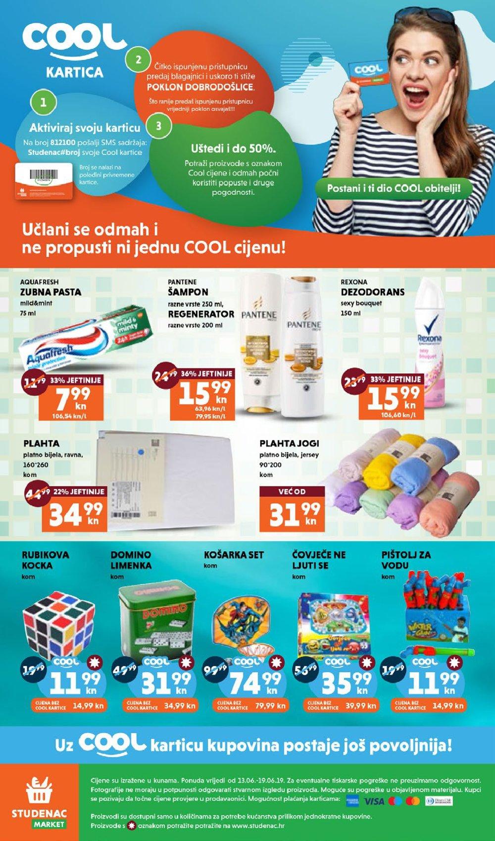 Studenac katalog Akcija 13.06.-19.06.2019.