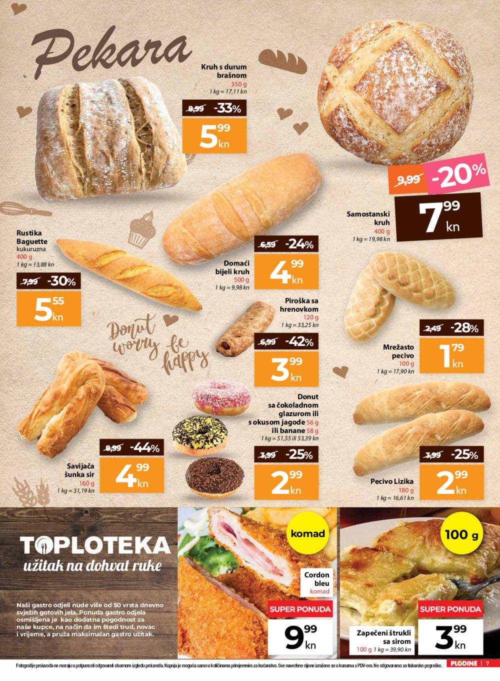 Plodine katalog Od srijede do srijede 19.06.-26.06.2019.