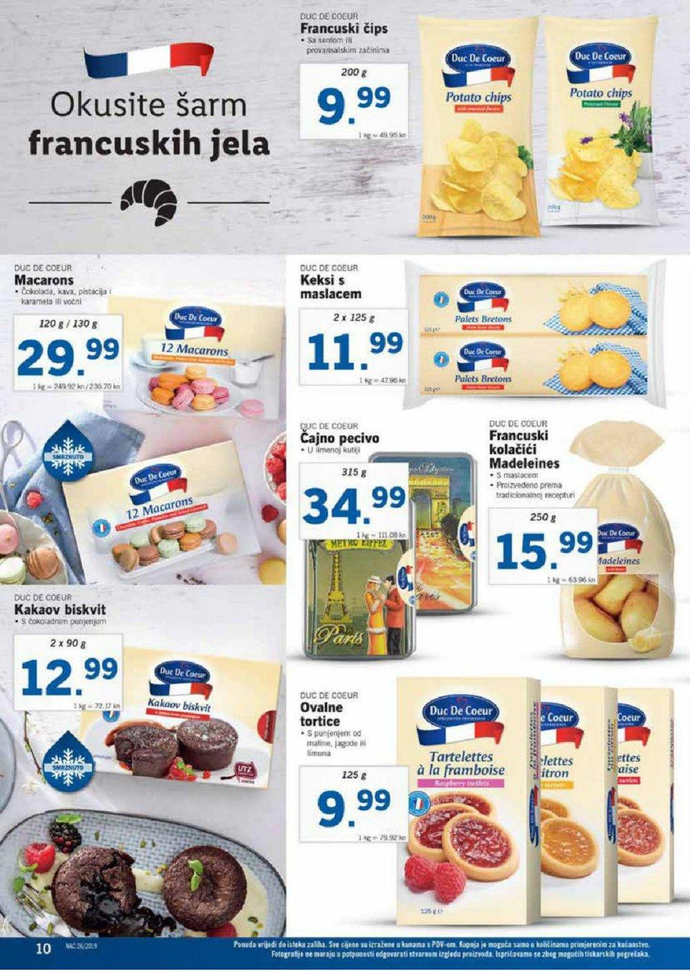 Lidl katalog Prehrana 24.06.2019.-30.06.20.19.