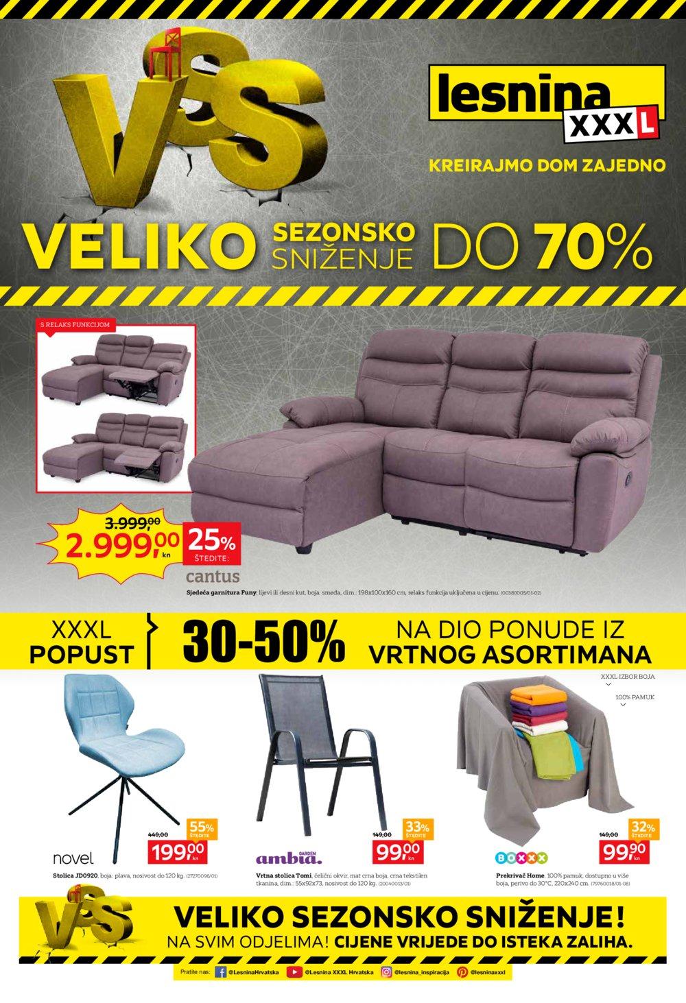 Lesnina katalog Veliko sezonsko sniženje 02.07.-15.07.2019.