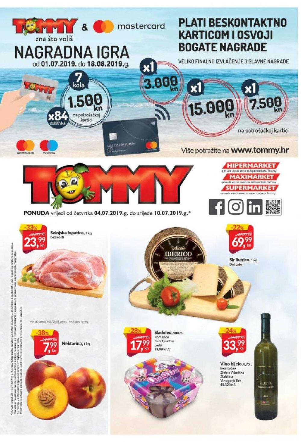 Tommy katalog Akcija 04.07.-10.07.2019.