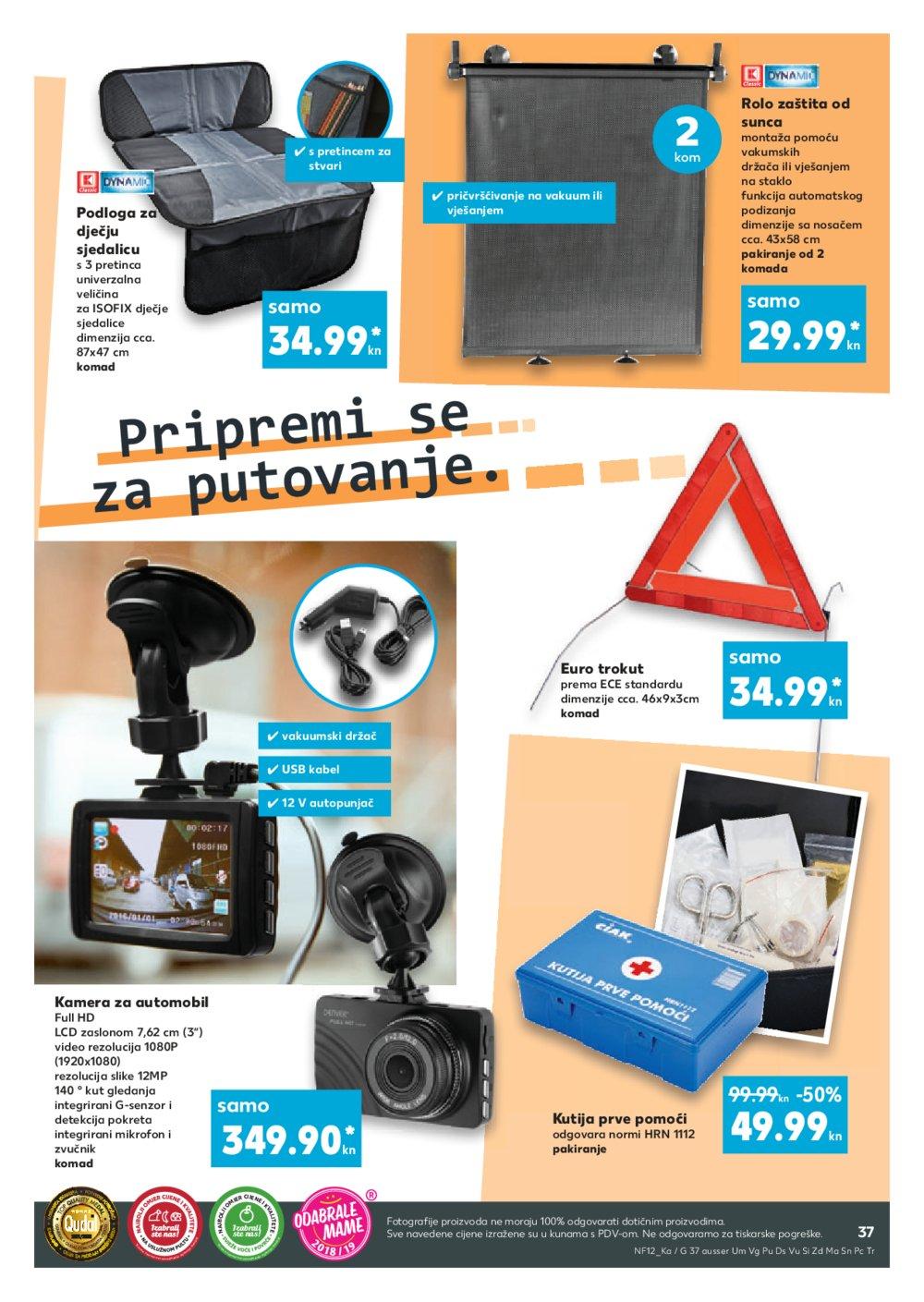 Kaufland katalog Akcija 11.7.-17.7.2019. Dja, NG, Os, Pž, SB, Vk, Vt