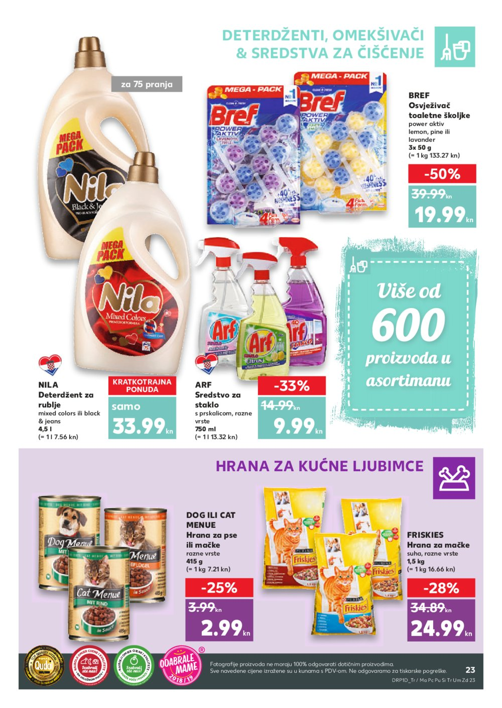 Kaufland katalog Akcija 11.7.-17.7.2019. Pu, Si, Tr, Zd, Umag