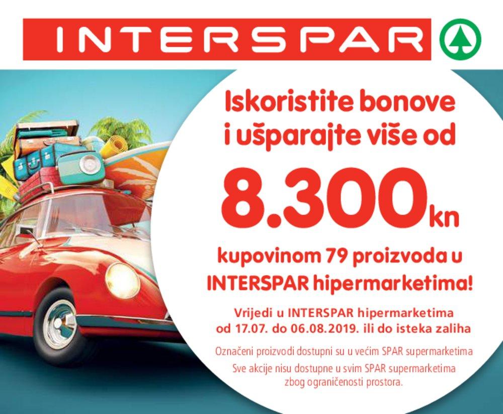 Interspar Knjižica bonova 17.07.-06.08.2019.