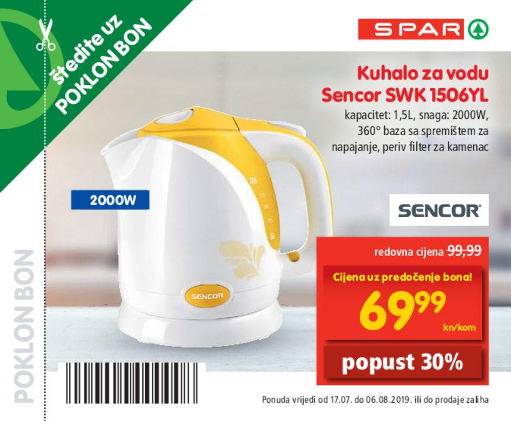 Spar Knjižica bonova 17.07.-06.08.2019.
