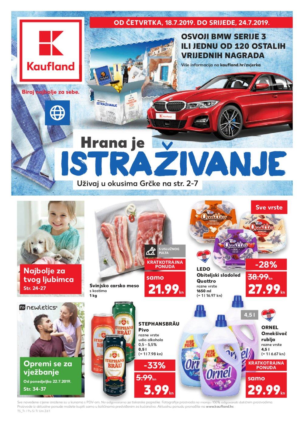 Kaufland katalog Akcija 18.07.-24.07.2019.