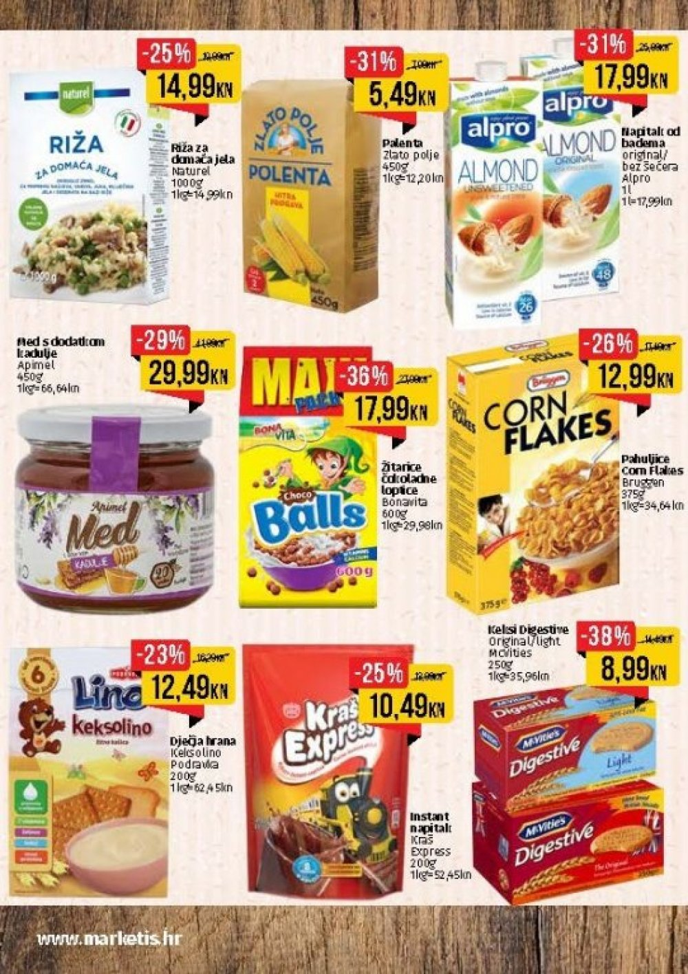 Istarski supermarketa Akcija od 02.10. -15.10.2017.