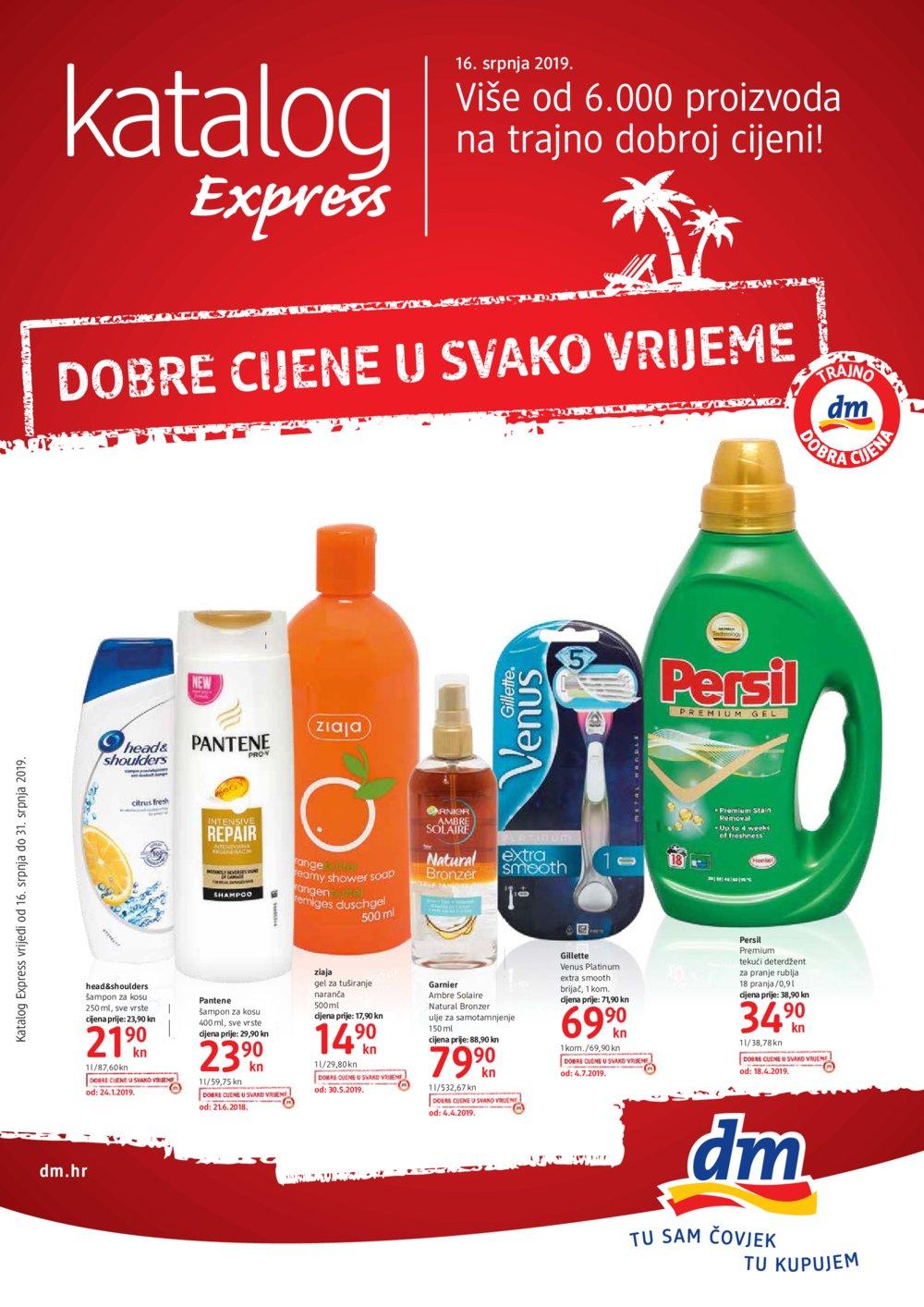 DM katalog Express 16.07.-31.07.2019.