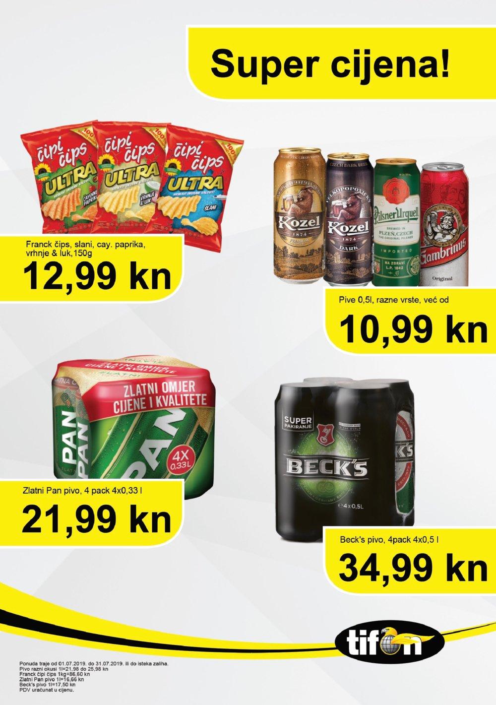 Tifon katalog Super cijena 01.07.-31.08.2019.