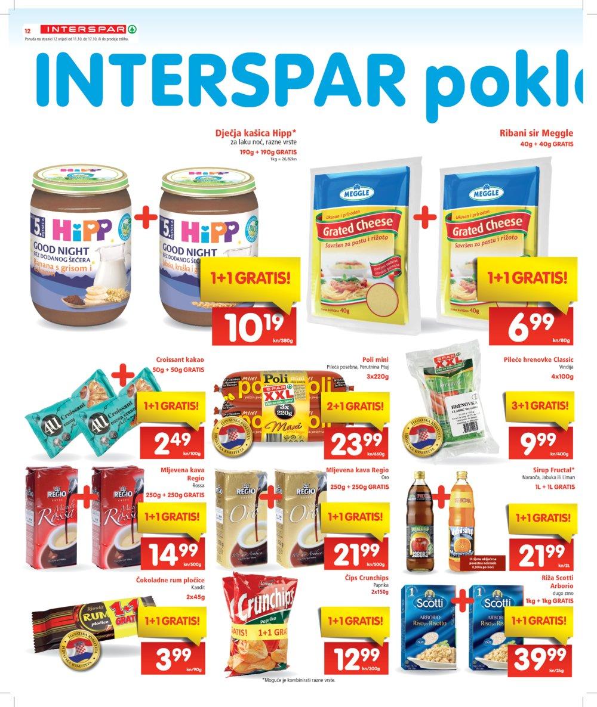Interspar katalog Akcija od 11.10. do 24.10.2017.