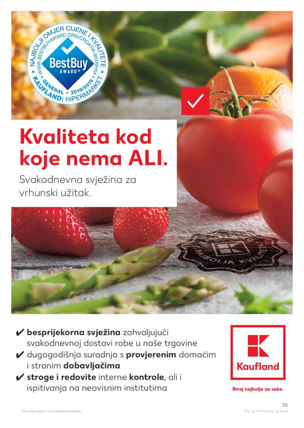 Kaufland katalog Akcija 14.08.-21.08.2019. Ma, Pč