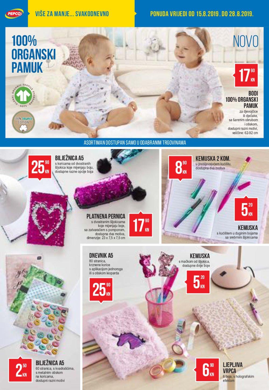 Pepco katalog Školska kolekcija 15.08.2019.-28.08.2019.