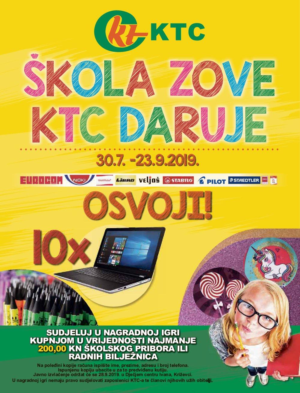KTC katalog Sve u pola cijene 14.08.-21.08.2019.