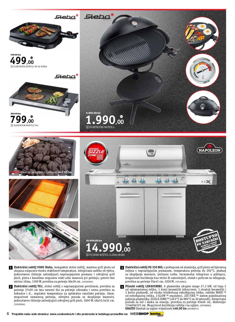 Lesnina katalog Uživanje na otvorenom od 02.05.2017. do 31.05.2017.
