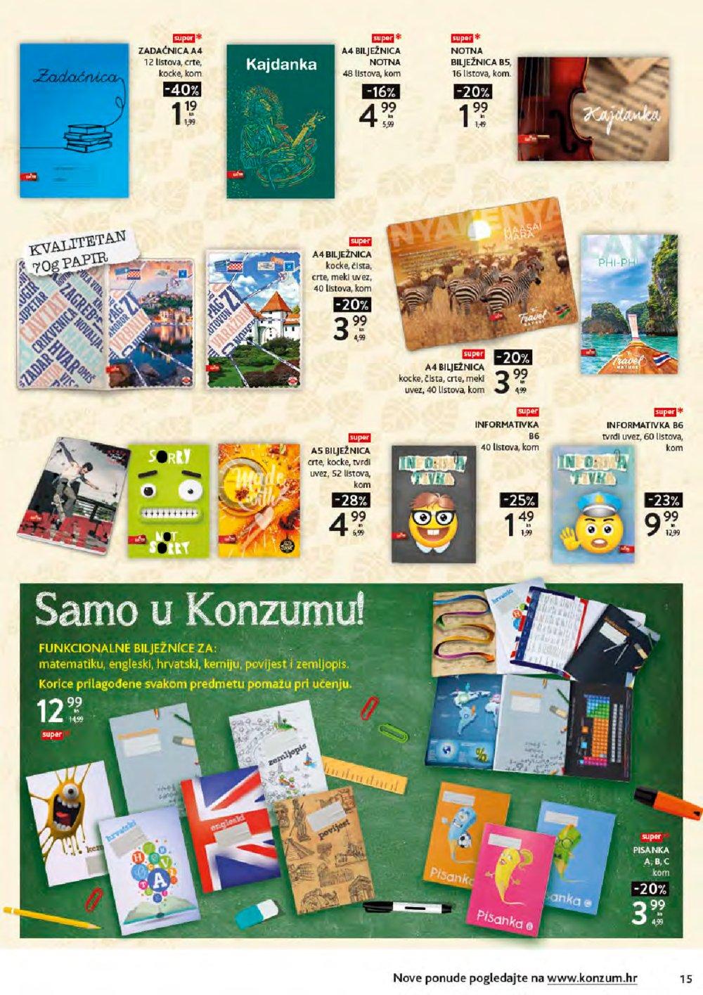 Konzum katalog Škola 19.08.-20.09.2019.