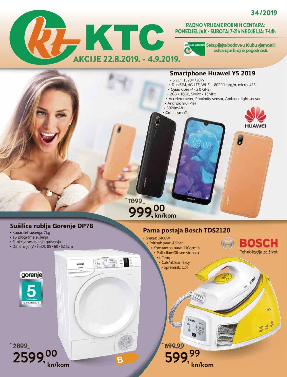 KTC katalog Akcija 22.08.-04.09.2019.