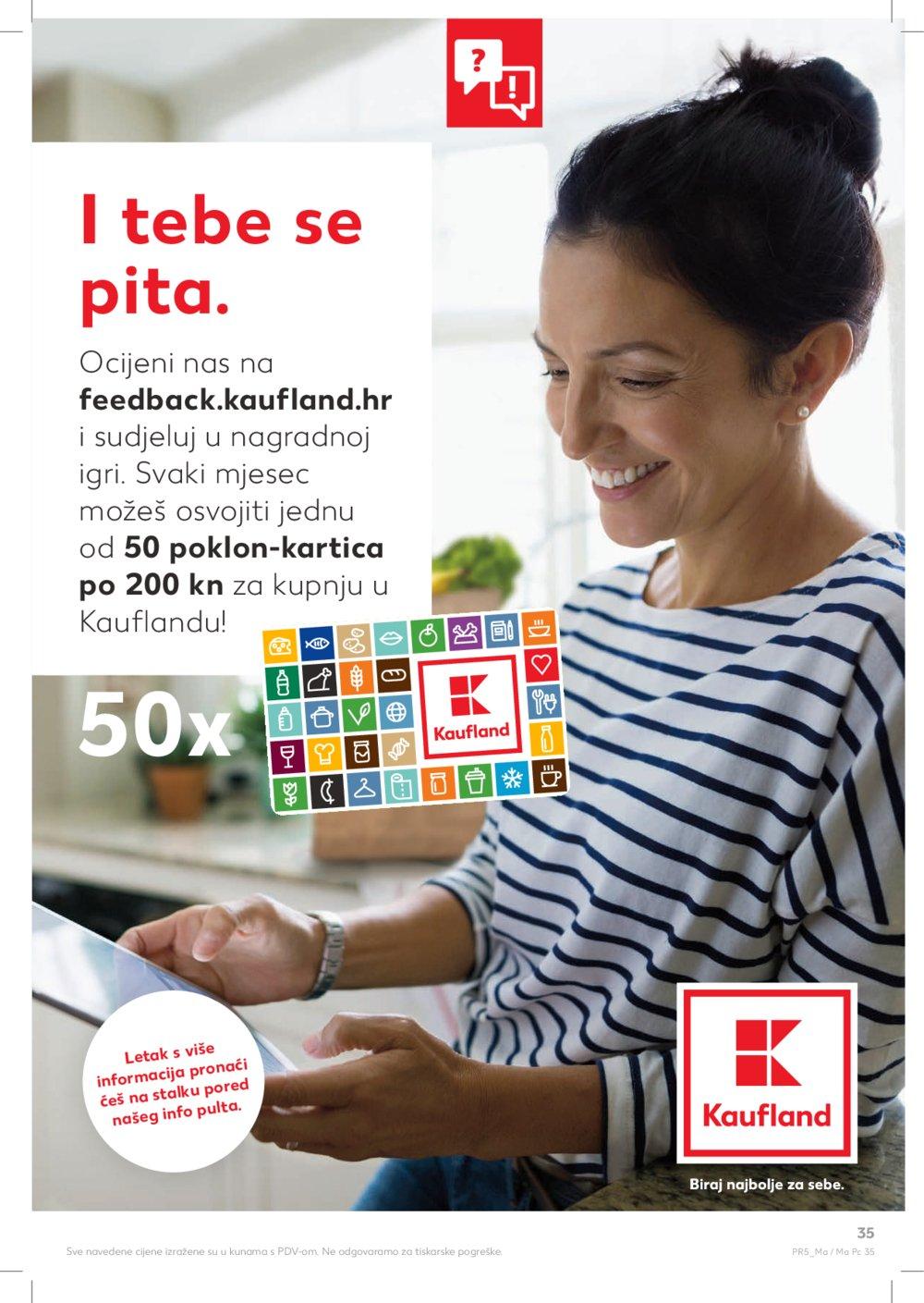 Kaufland katalog Akcija 22.08.-28.08.2019. Makarska Poreč