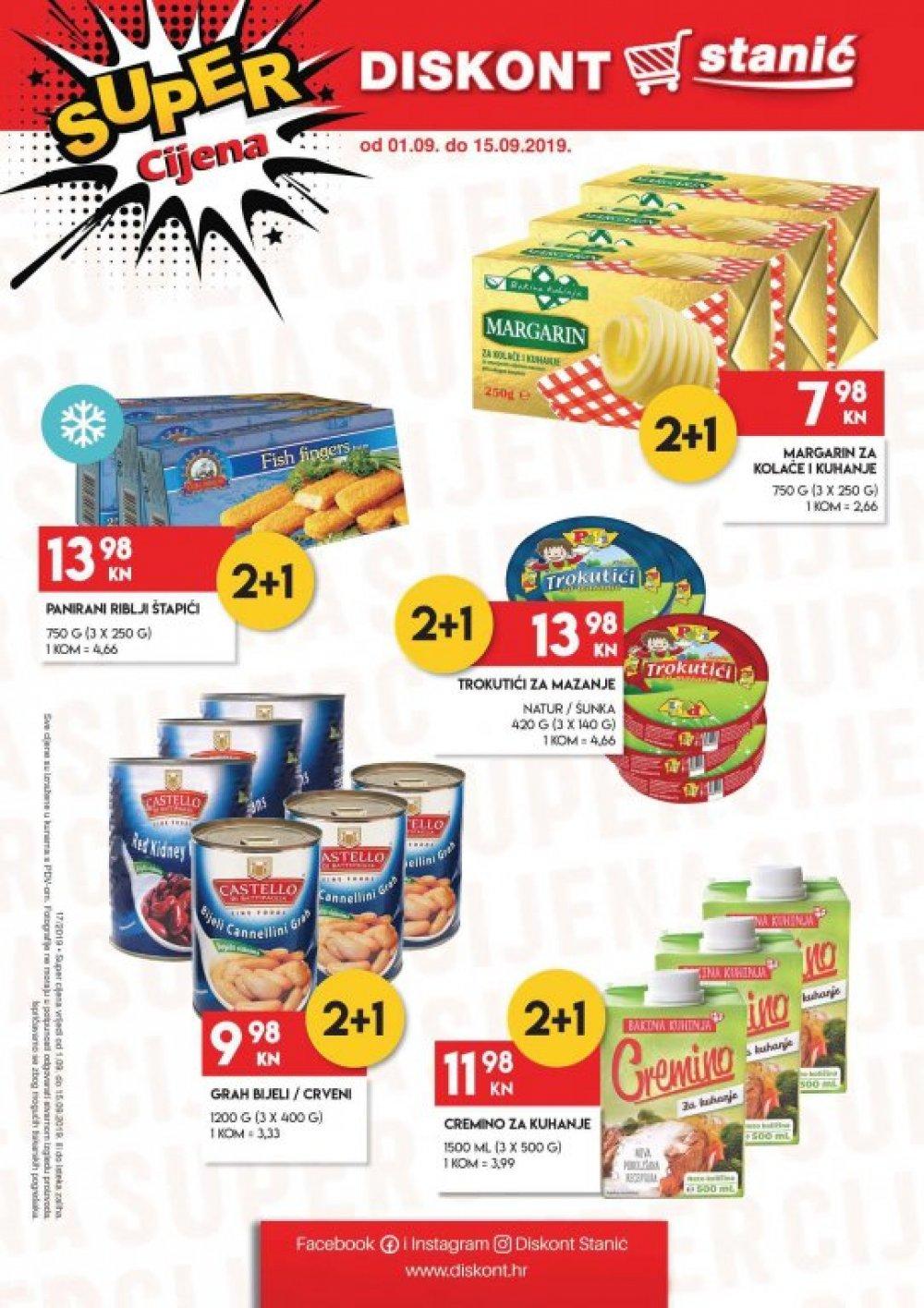Stanić katalog Akcija 01.09-15.09.2019.