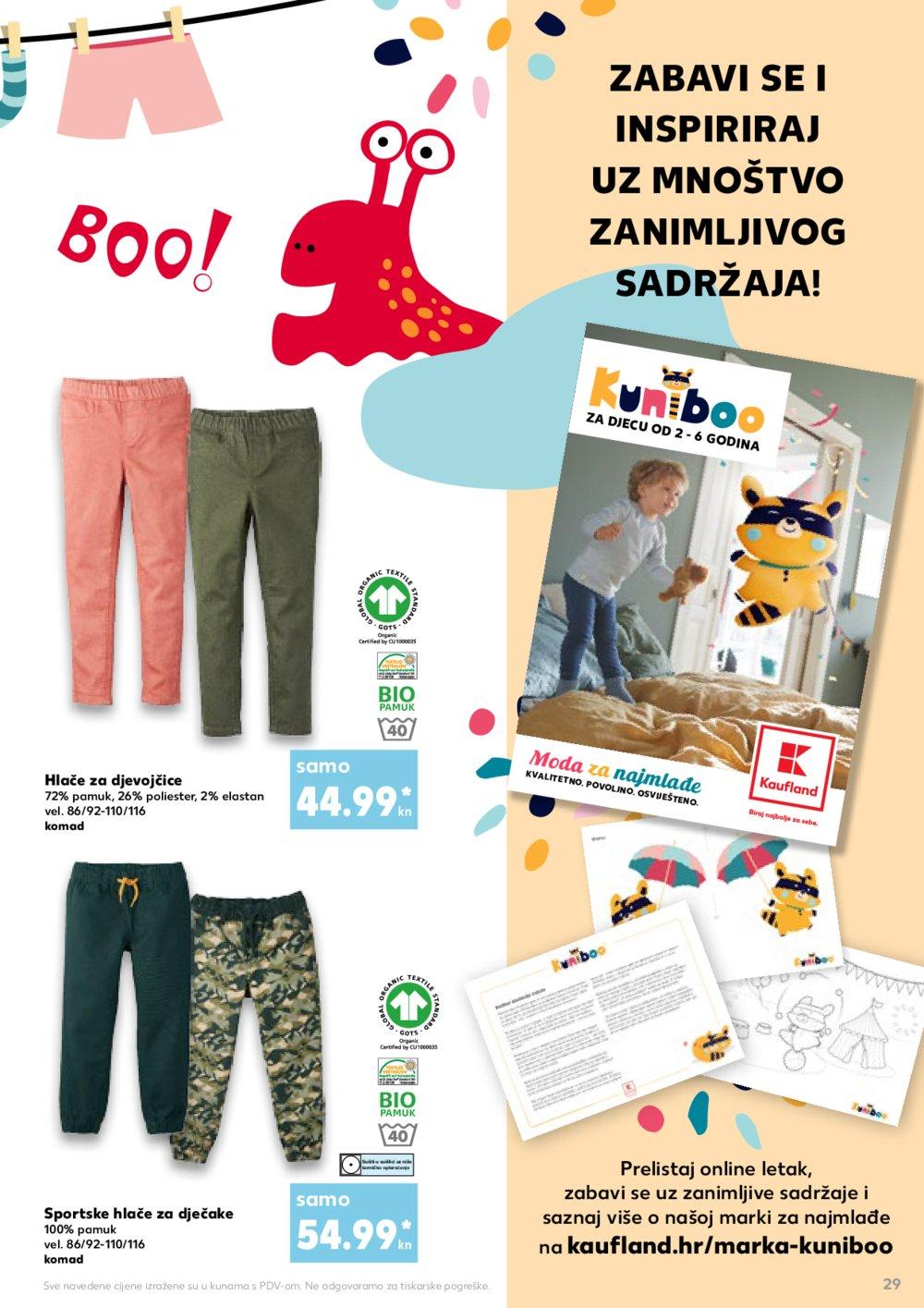 Kaufland katalog Back to School 05.09.-11.09.2019.