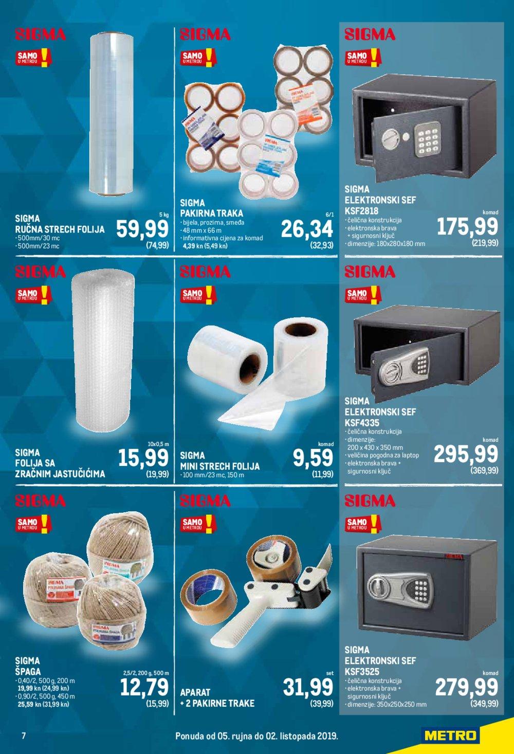 Metro katalog Sve za Vaš ured 05.09.-02.10.2019.