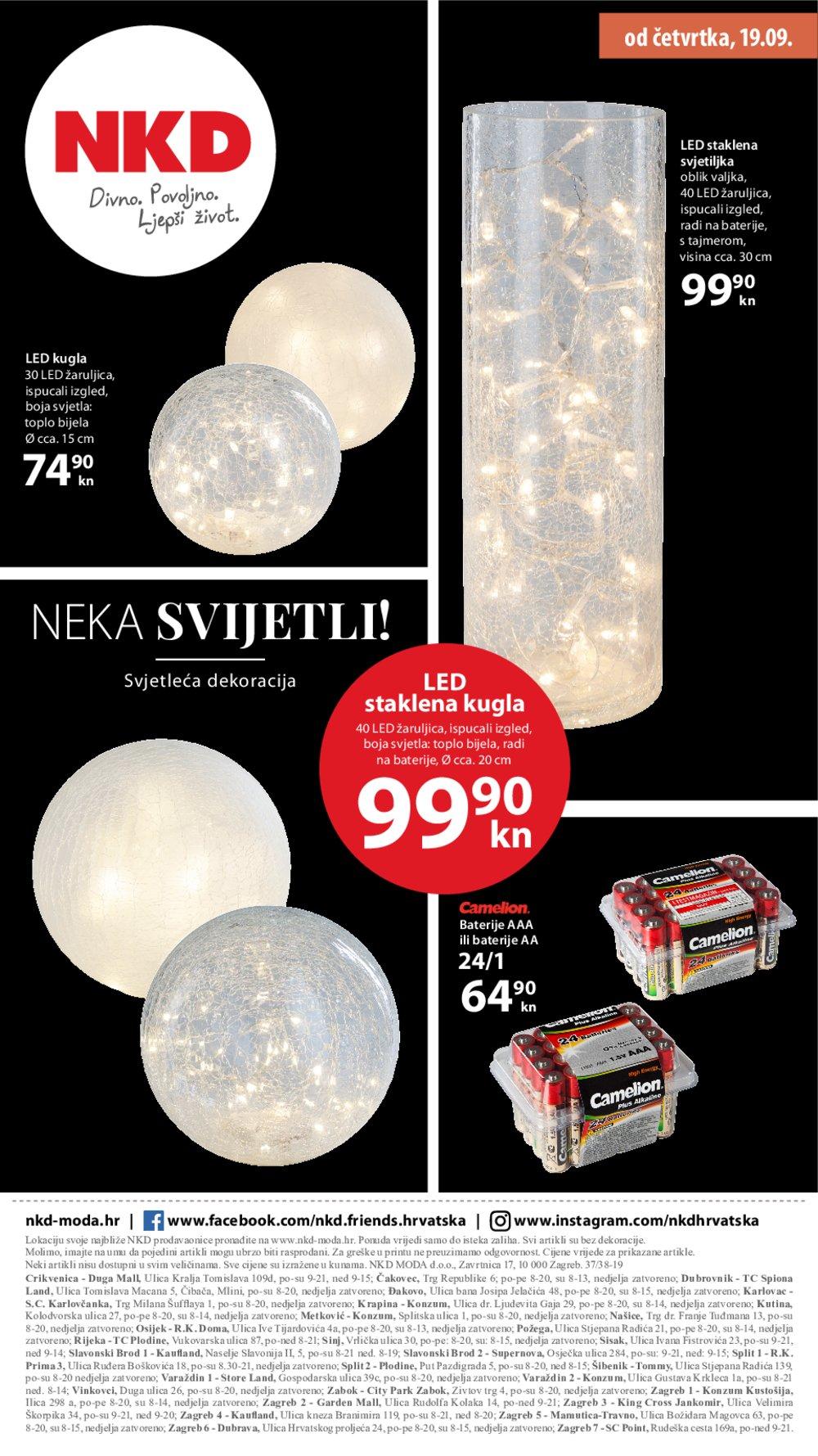 NKD katalog Noći iz snova 19.09.-26.09.2019.