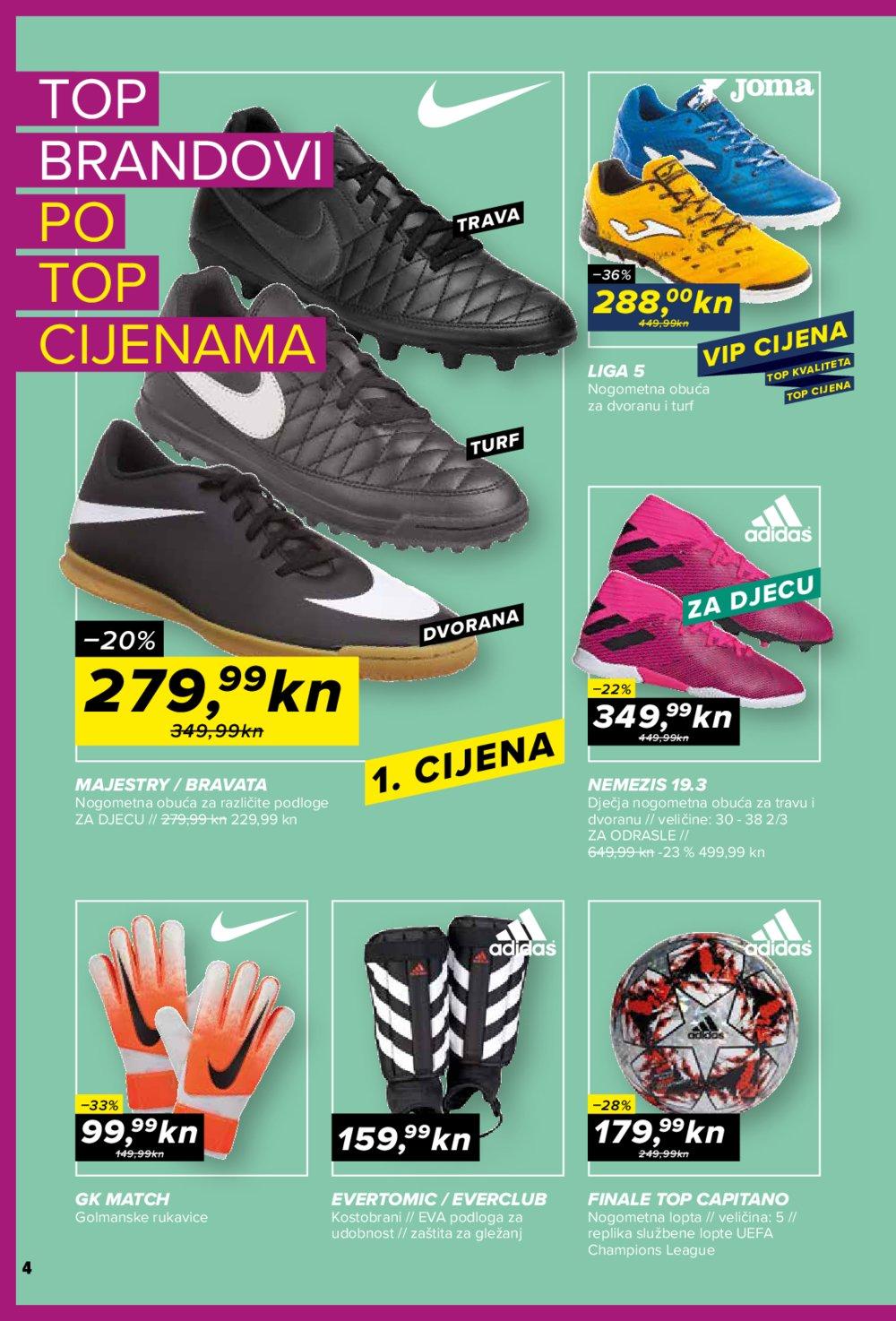 Hervis letak akcija Top brandovi 11.09. - 16.09.2019.