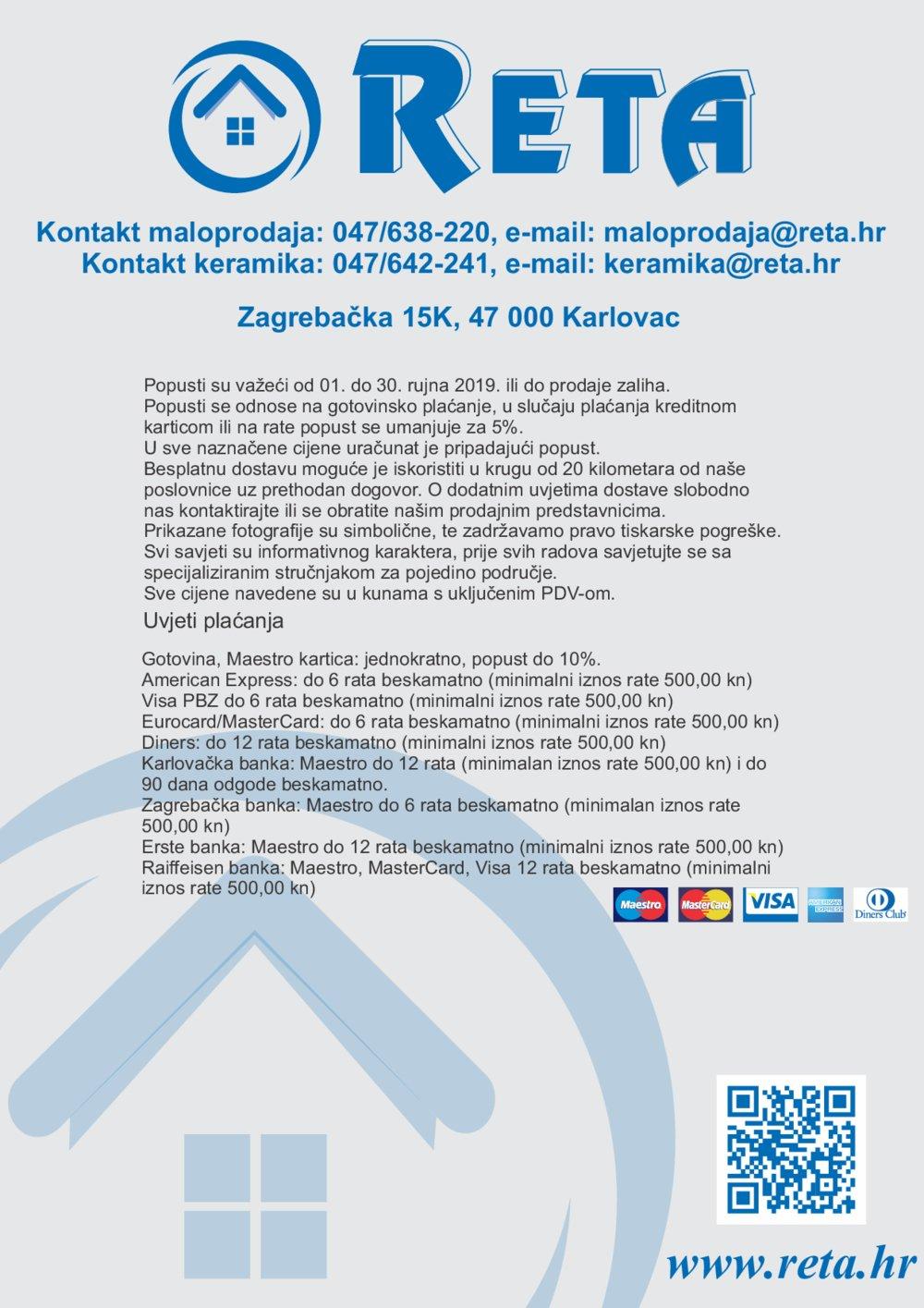 Reta katalog Rujan 01.09.-30.09.2019.