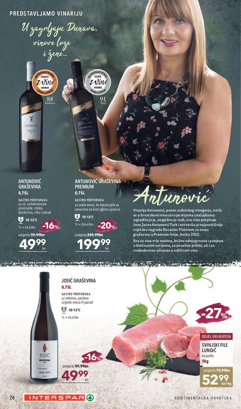 Interspar katalog Vina 25.09.-15.10.2019.