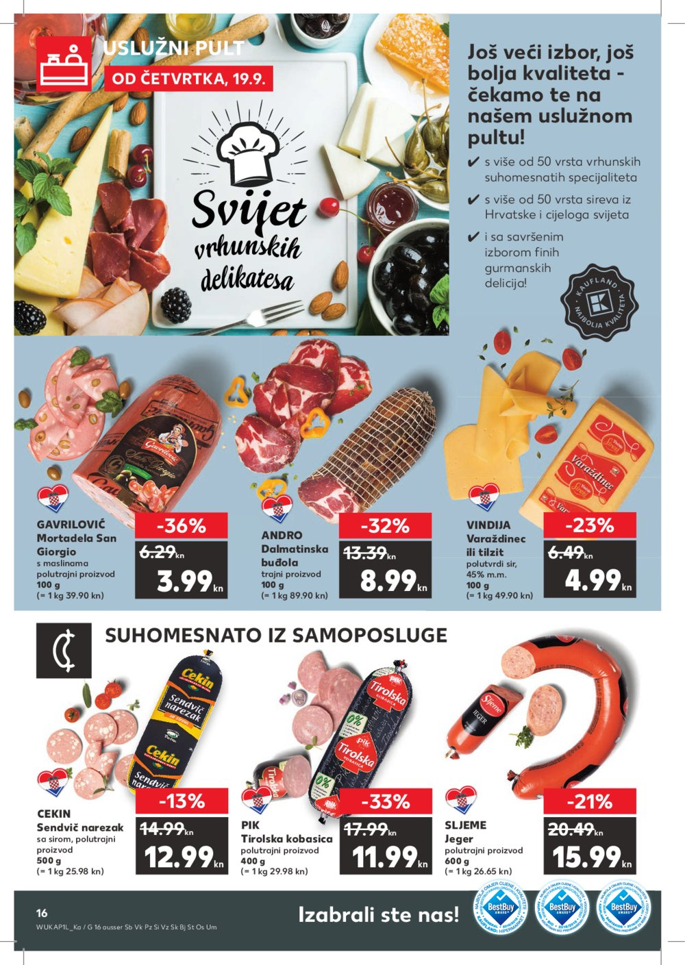 Kaufland katalog Akcija 19.09.-25.09.2019.