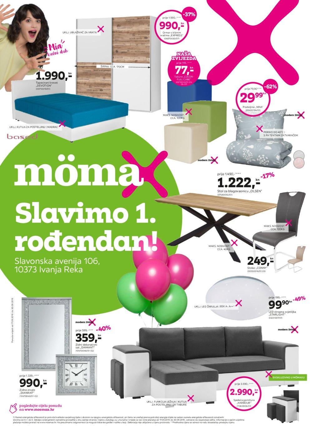 Momax katalog Akcija 17.09.-30.09.2019.