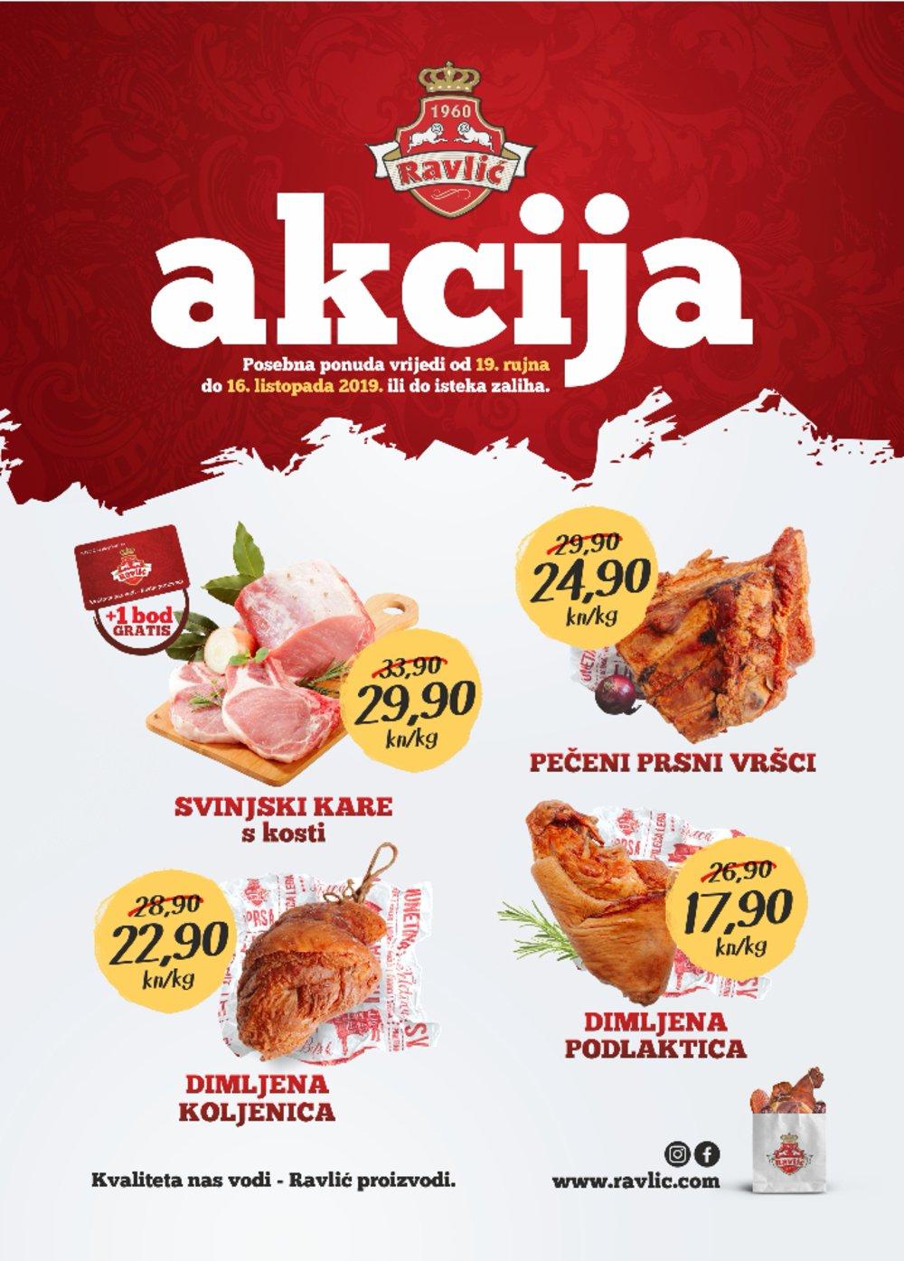 Ravlić letak Akcija 19.09.-16.10.2019.
