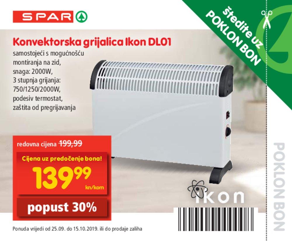 Spar katalog Bonovi 25.09.-15.10.2019.