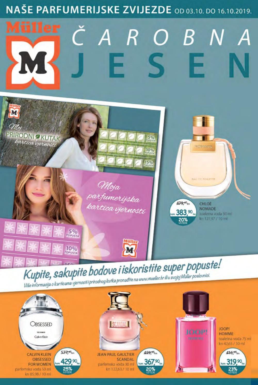 Muller katalog Parfumerija 03.10.-16.10.2019.