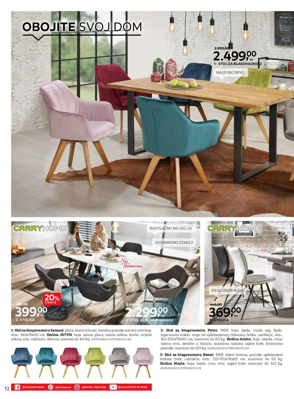 Lesnina katalog Kreirajmo dom zajedno Zg west Zg east Pu 01.10.-16.10.2019.