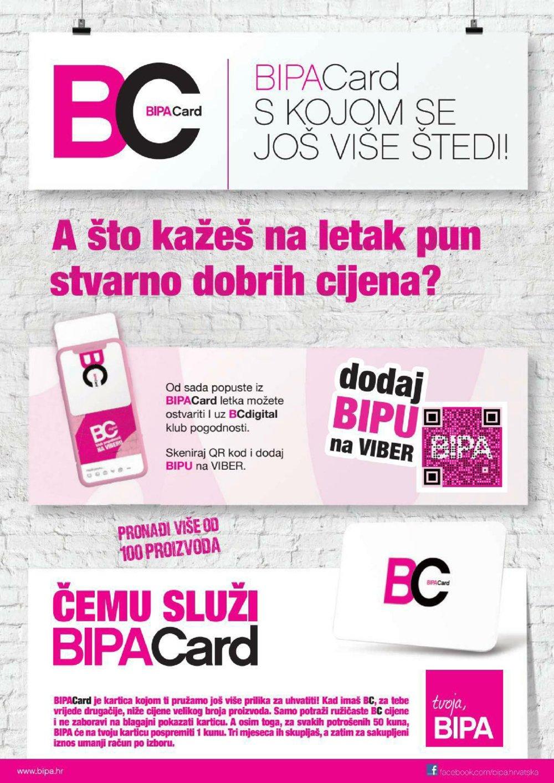 Bipa katalog BipaCard akcija 01.10.2019.-31.12.2019.