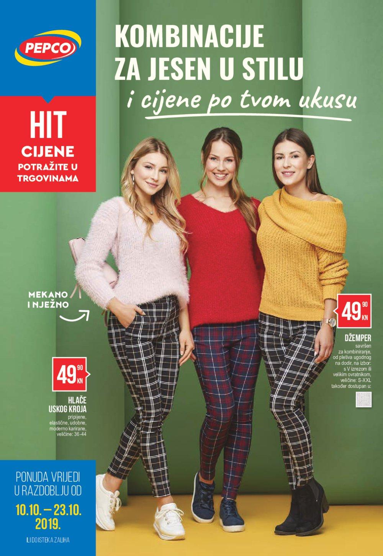Pepco katalog Kombinacije za jesen 10.10.-23.10.2019.