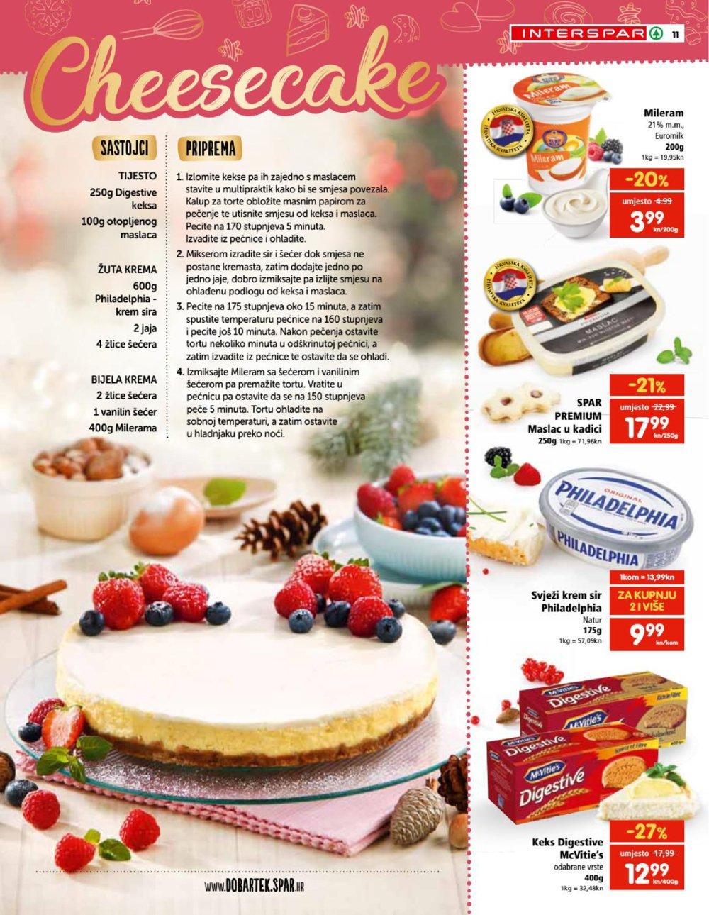 Interspar katalog Vrijeme je za kolače 16.10.2019.-07.01.2020.