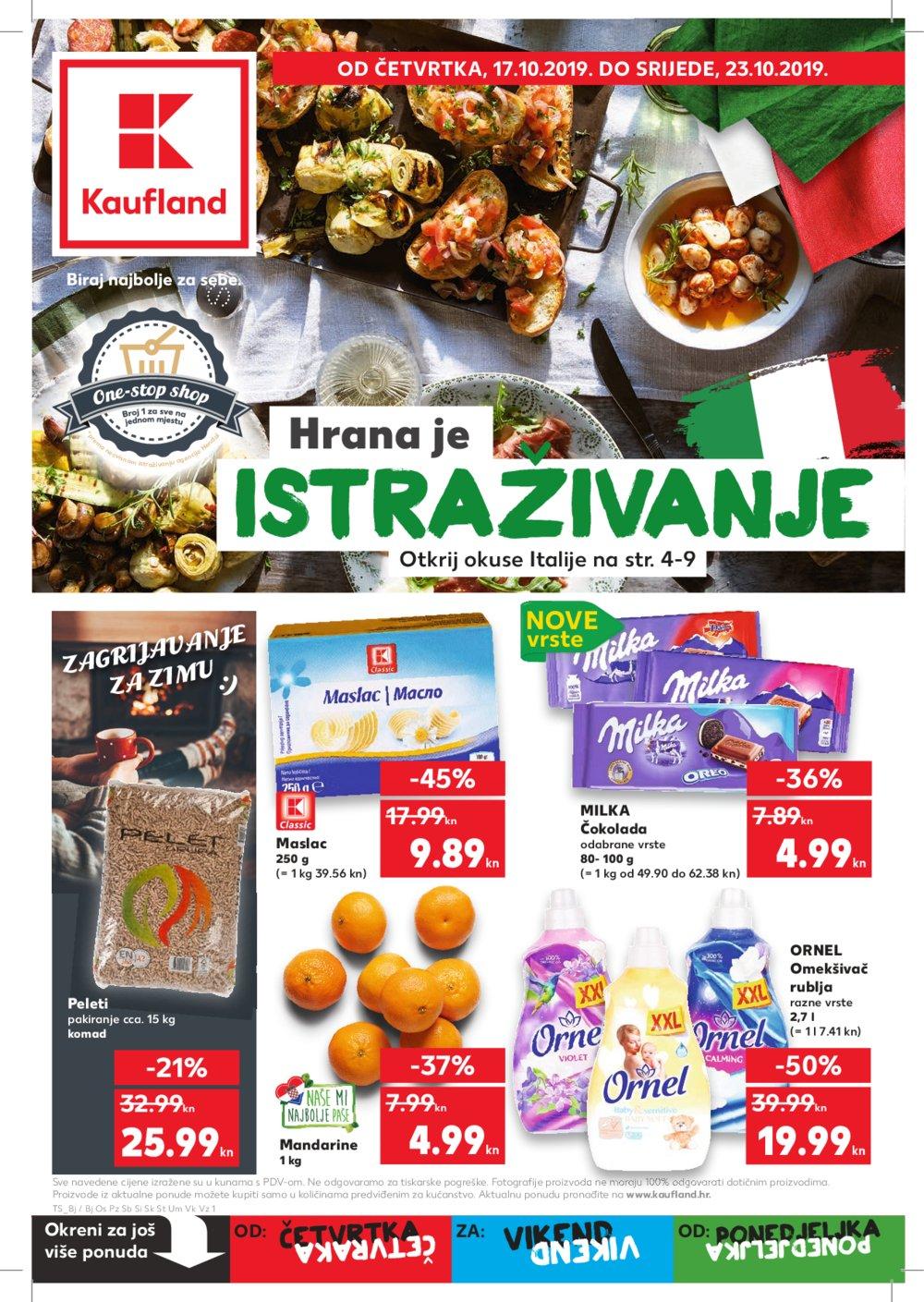 Kaufland katalog Akcija 17.10.-23.10.2019.