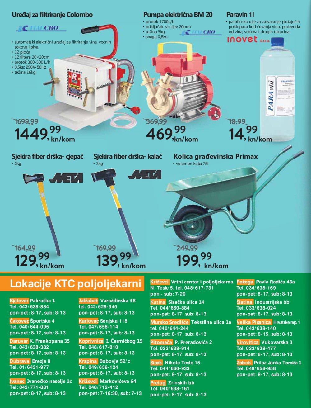 KTC katalog Akcija Poljoapoteka 17.10-30.10.2019