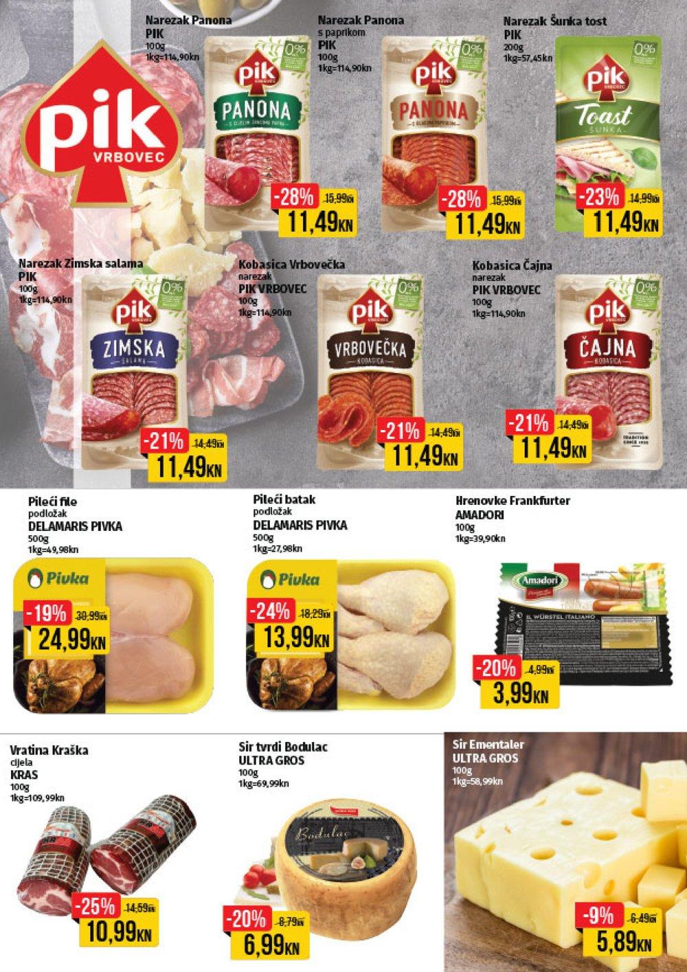 Istarski supermarketi katalog Akcija 07.10. - 20.10.2019.