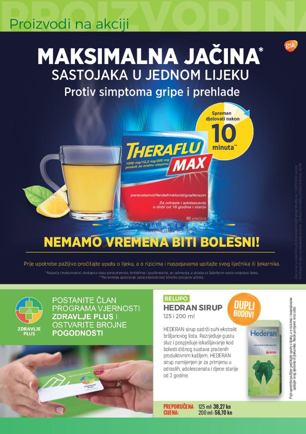 Zdravlje plus katalog Akcija 01.11.-30.11.2019.