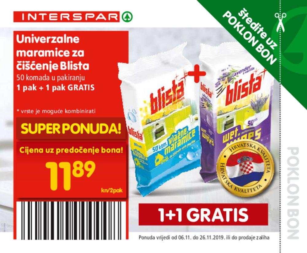 Interspar katalog Bonovi 06.11.-26.11.2019.