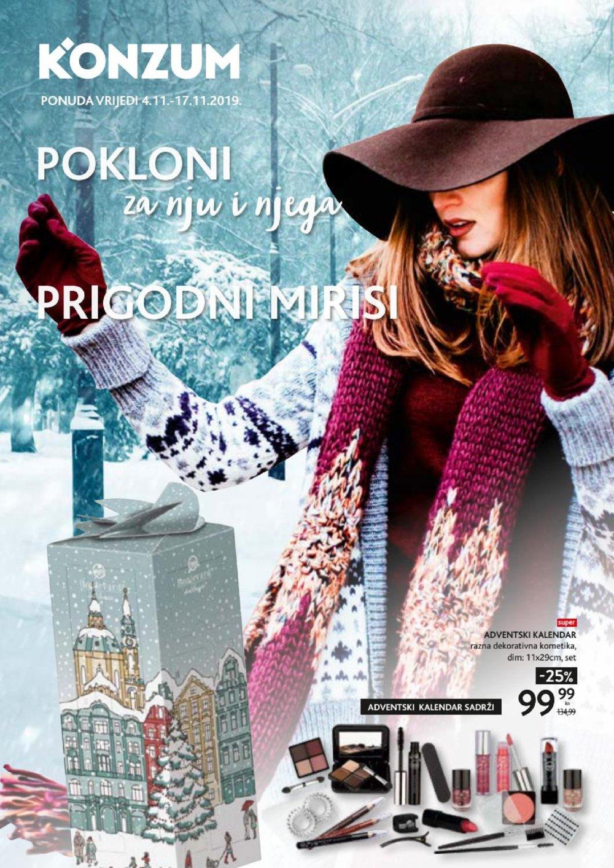 Konzum katalog Pokloni 04.11.-17.11.2019.