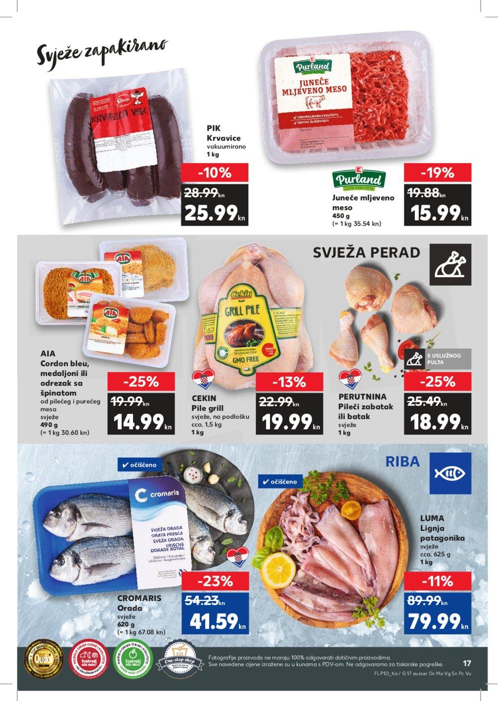 Kaufland katalog Akcija 07.11.-13.11.2019. Kt