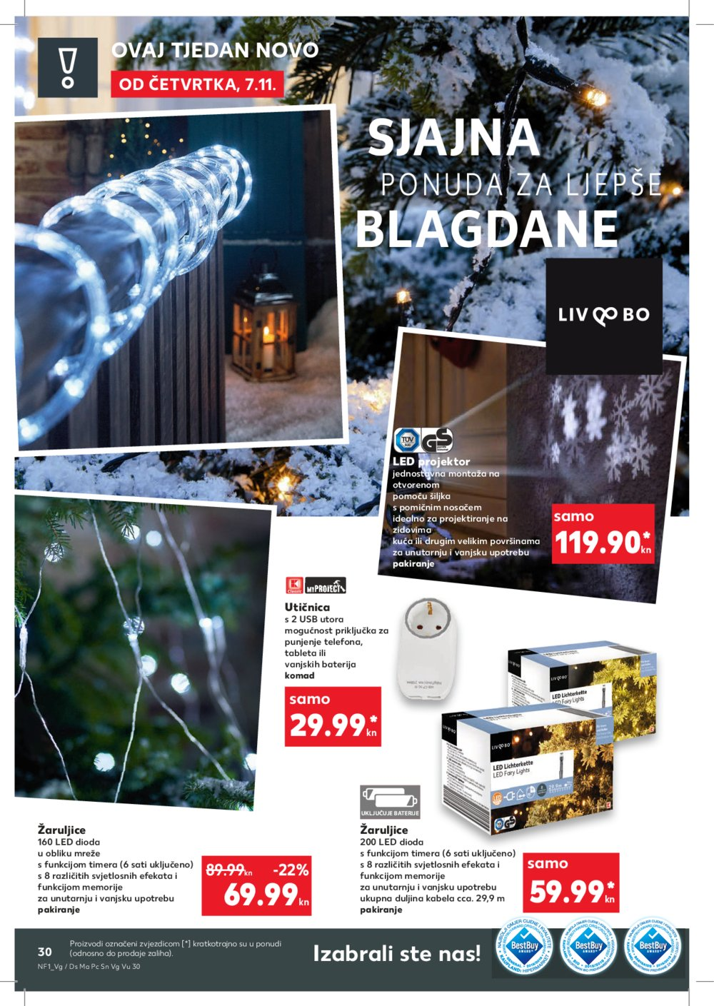 Kaufland katalog Akcija 07.11.-13.11.2019. Ma, Po, Si, VG, Vu