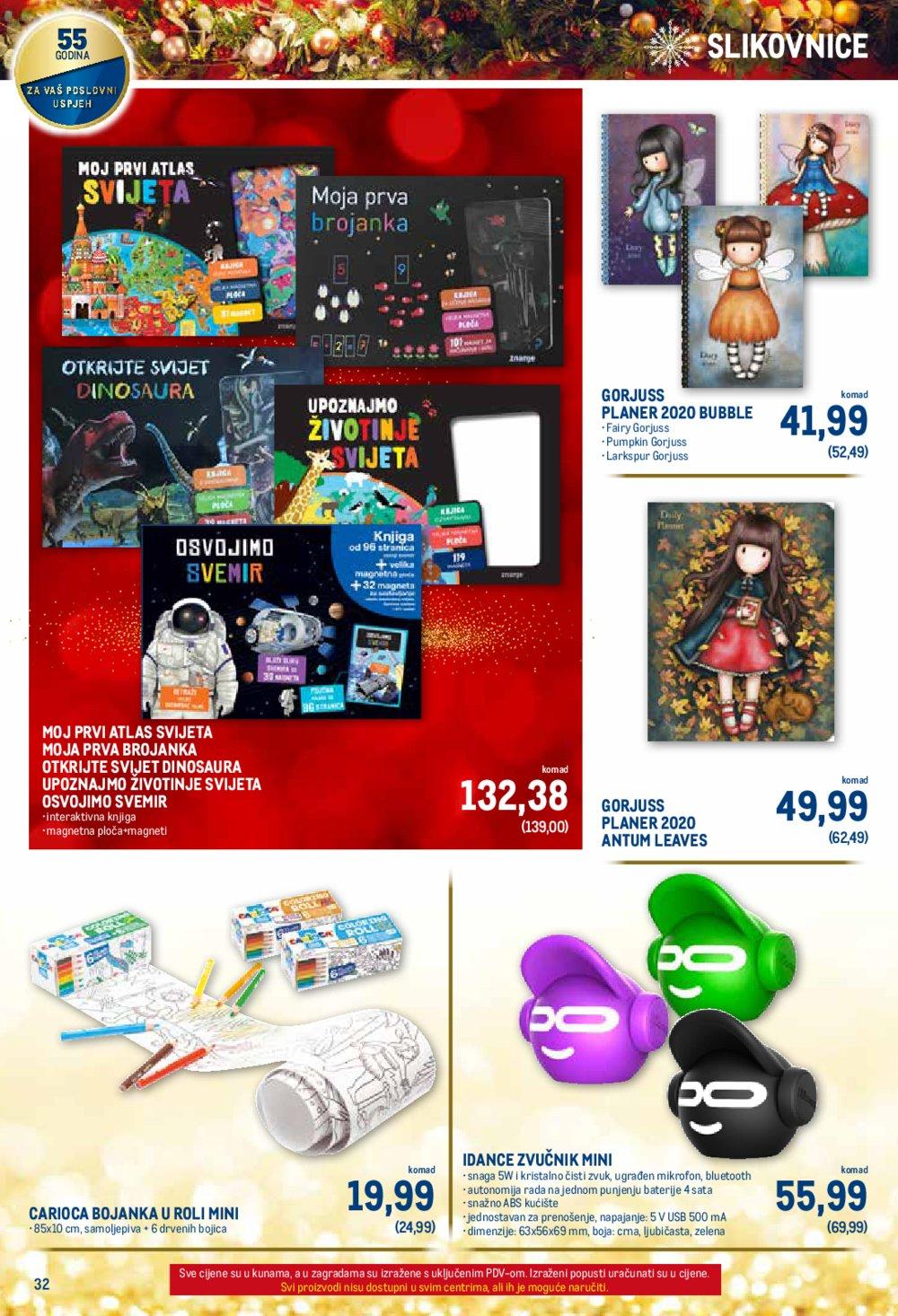 Metro Božićni katalog 14.11.-31.12.2019