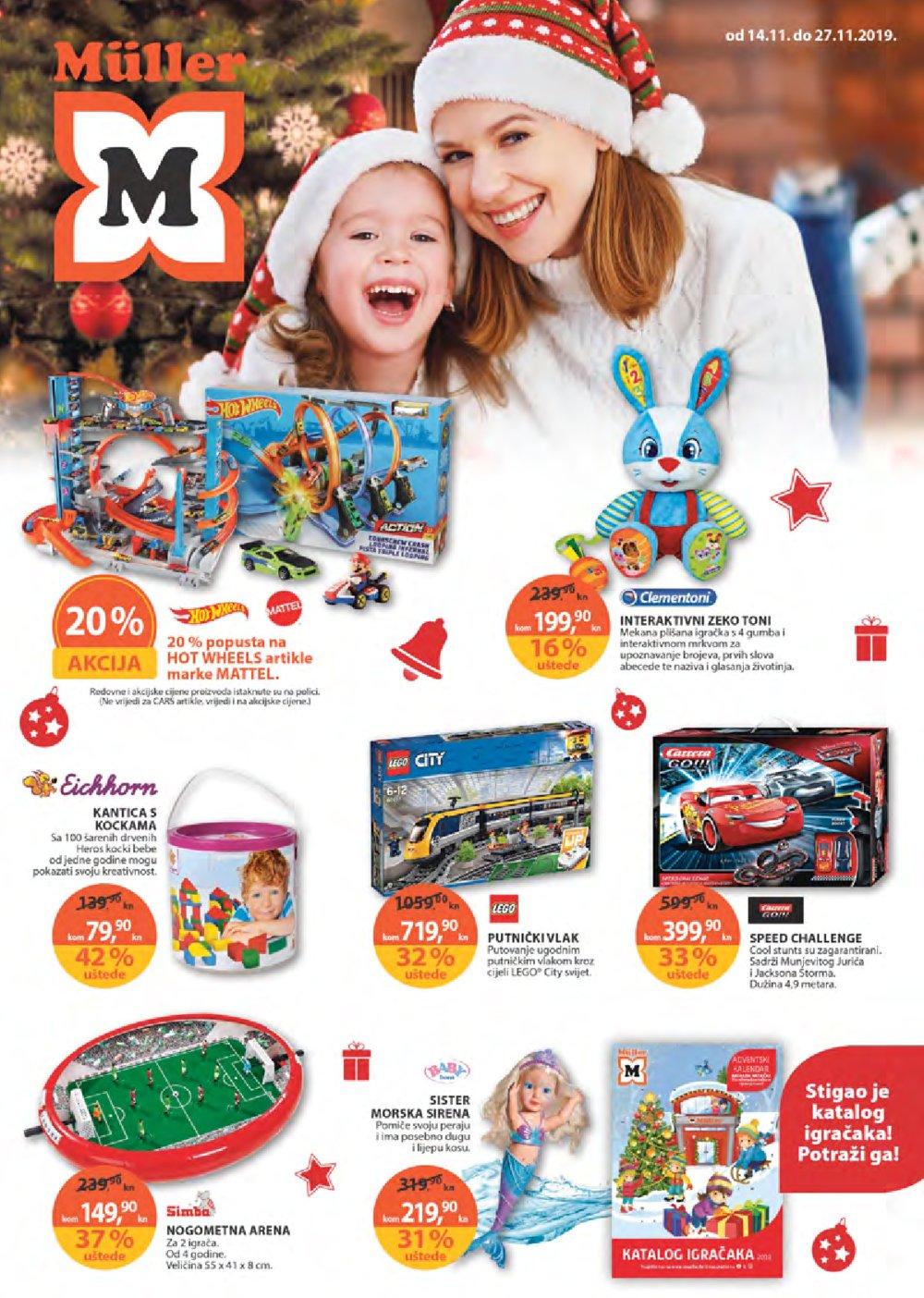 Muller katalog igračke 14.11.-27.11.2019.